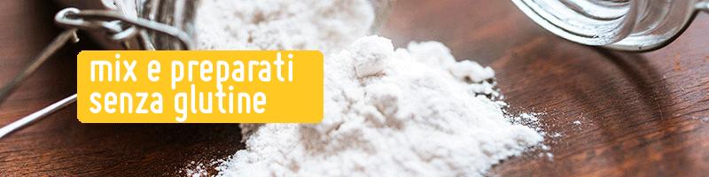 Mix e Preparati Senza Glutine