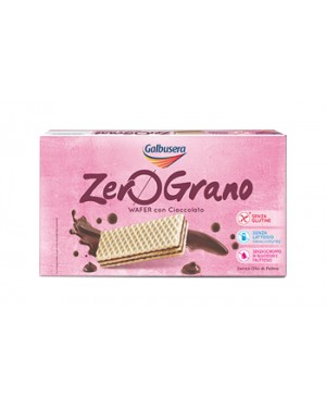 Galbusera Zerograno wafer 180g