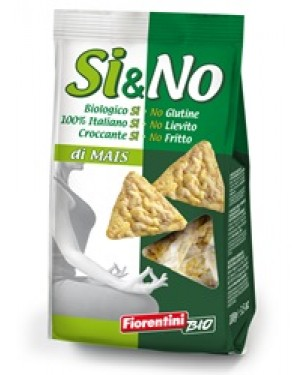Fiorentini Bio si&no di mais mini gallette al sale marino biologiche 100g
