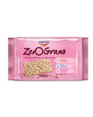 Galbusera Zerograno cracker integrale 360g