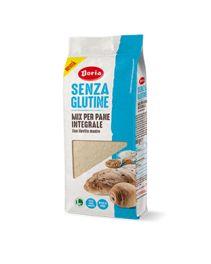 Doria Mix per pane integrale 500g