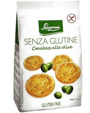LAZZARONI CRACKER OLIVE 200G