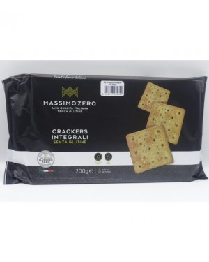 Massimo zero cracker integrali 200g