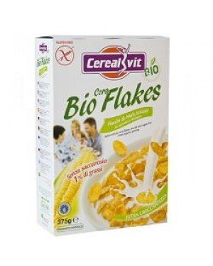 Cerealvit Bio corn flakes scatola 375g