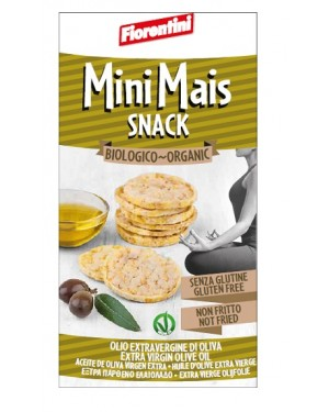 Bio Mini Snack Gallette Di Mais All'Olio Extravergine D'Oliva 50 G
