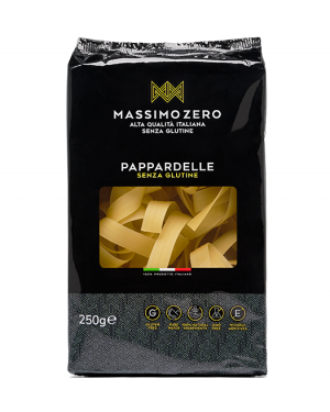 Massimo zero pappardelle all'uovo N.4 sg 250g