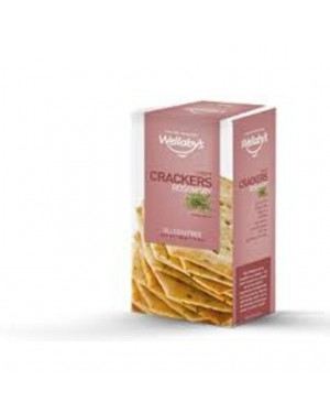 Wellaby's Crispy Crackers Rosmarino 100g