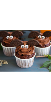 Muffin al cioccolato per Halloween