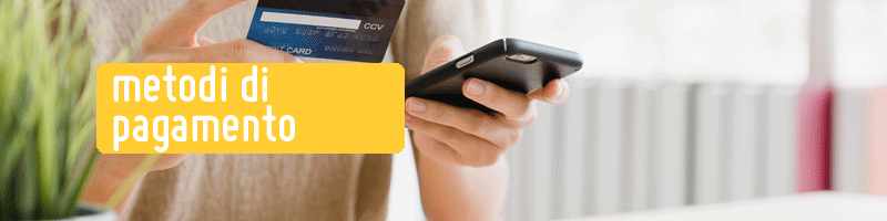 metodi di pagamento negozio senza glutine milano ecommerce online